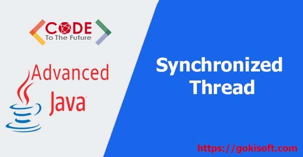 08. Giải thích synchronized + Lap trinh Java nang cao